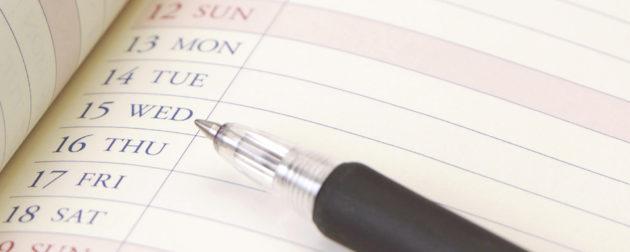 ご遺族や役員の都合を考慮した社葬やお別れの会の日程やスケジュール