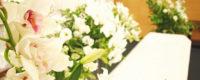会社主催で行った、お棺のある合同葬のお葬式