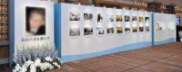 故人らしさの表れたパネル展示
