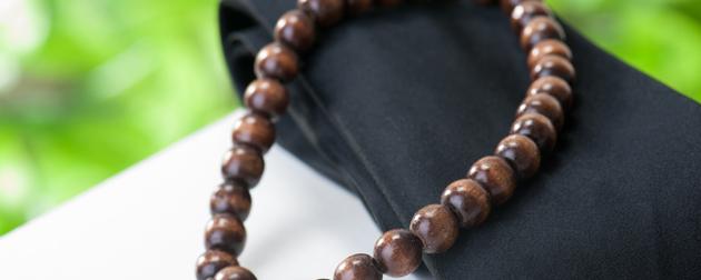 社葬の持ち物:数珠