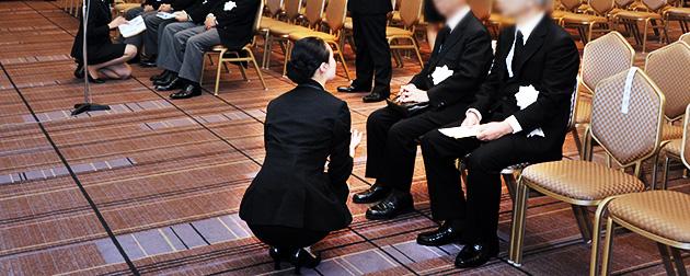 社葬・お別れの会での遺族対応