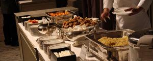 お別れの会の会食の料理