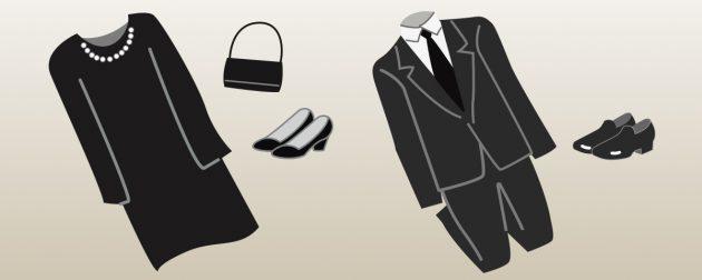 社葬・お別れの会の服装(喪服)